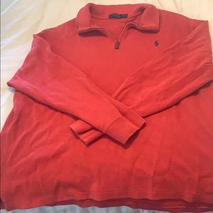 Polo Red Quarter zip